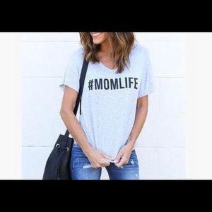 Tops - #MOMLIFE T-SHIRT -SIZE XL -NWT🏷